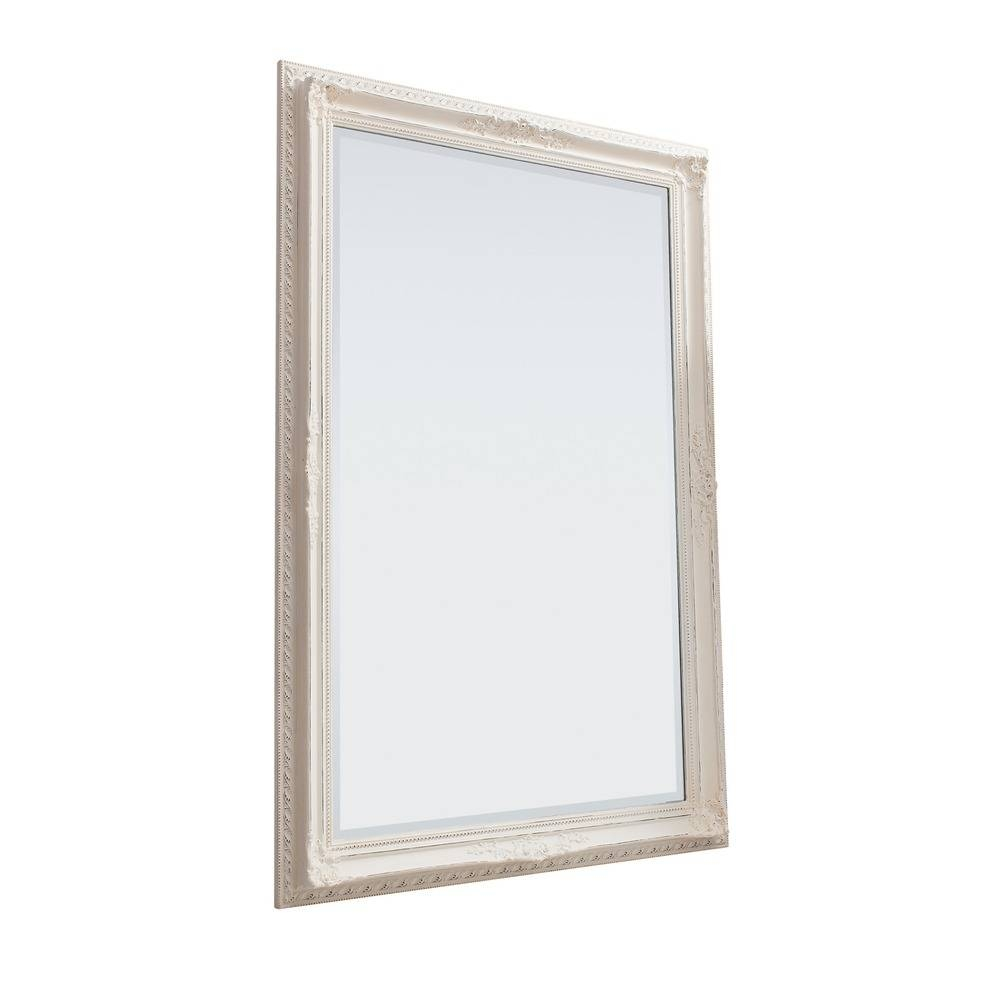 Large Wall Mirror: Buckingham Wall Mirror | Select Mirrors throughout Vintage White Mirrors (Image 17 of 25)
