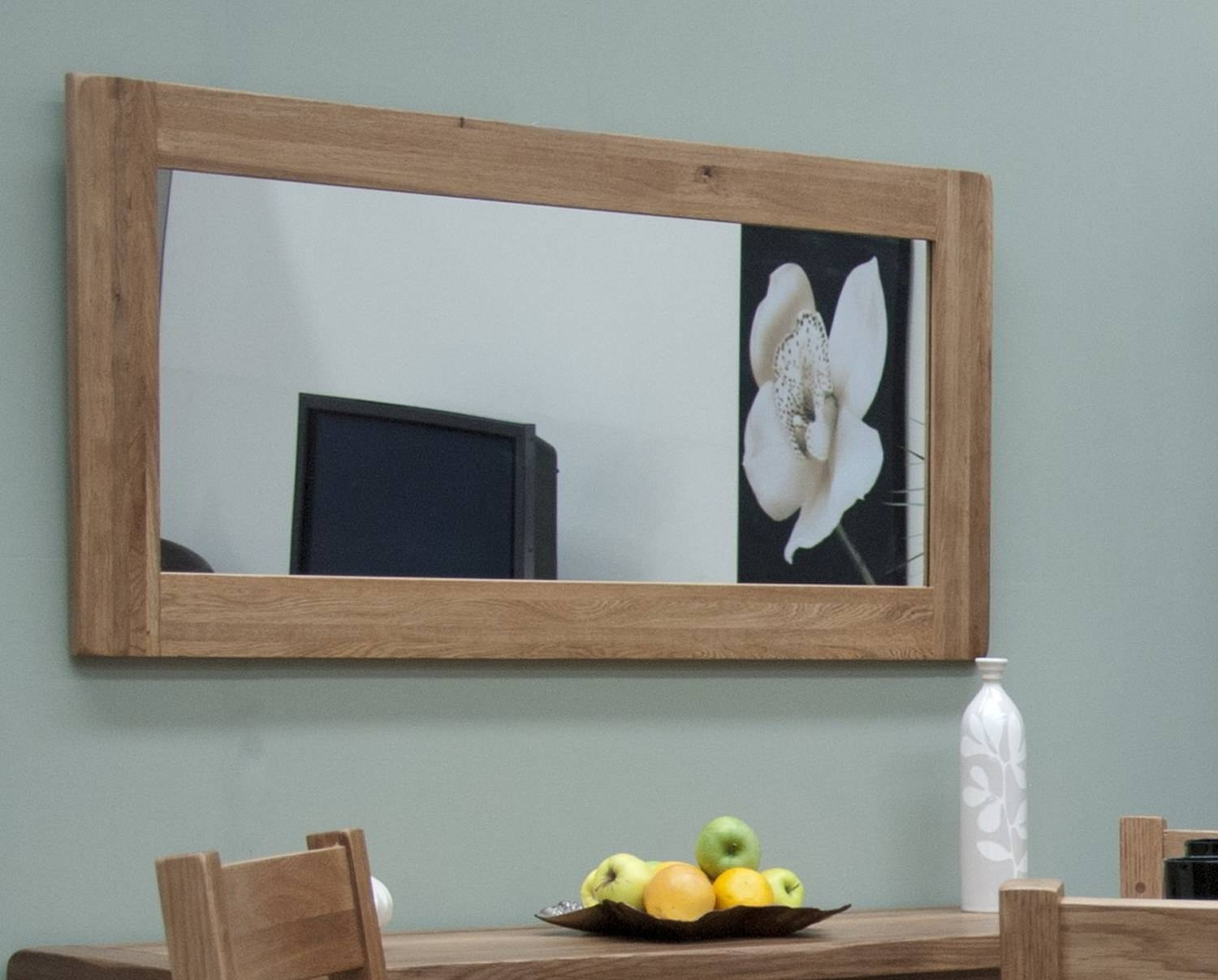 Large Wall Mirror. Large Rectangular Wall Mirrors For Living Room in Large Oak Mirrors (Image 12 of 25)