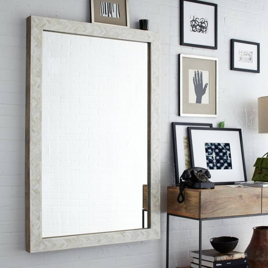 Large Wall Mirror To Decorate Your Interior Room - Traba Homes throughout Big White Mirrors (Image 16 of 25)