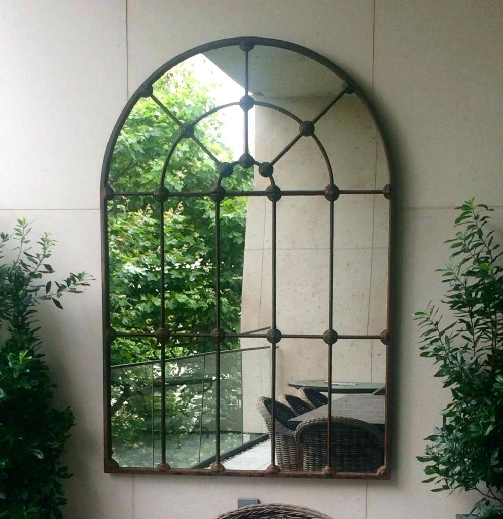 Large Window Pane Mirror – Amlvideo with regard to Garden Window Mirrors (Image 20 of 25)