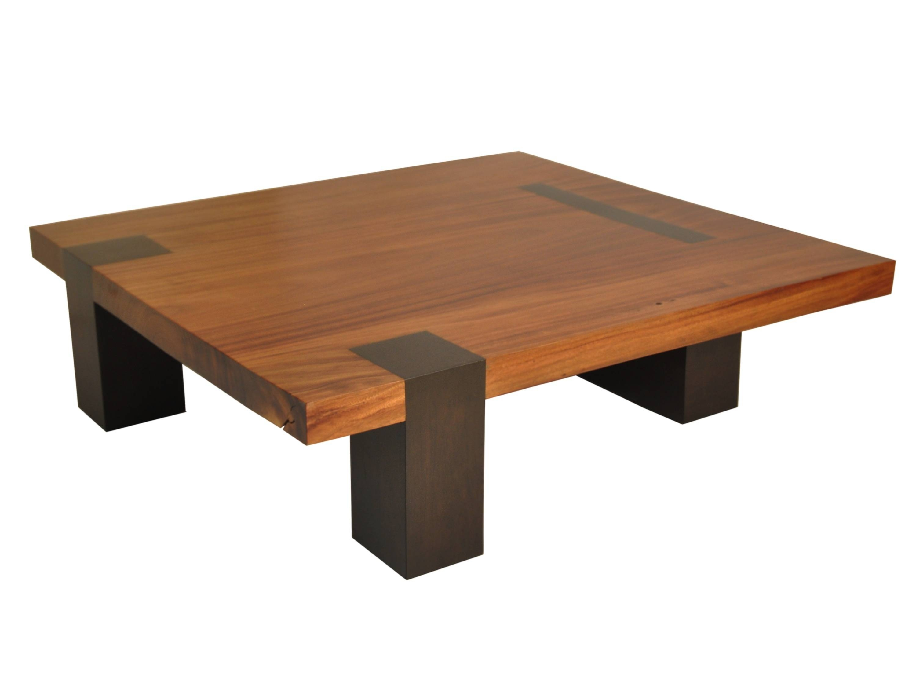 Large wood coffee table square for Large wooden coffee tables