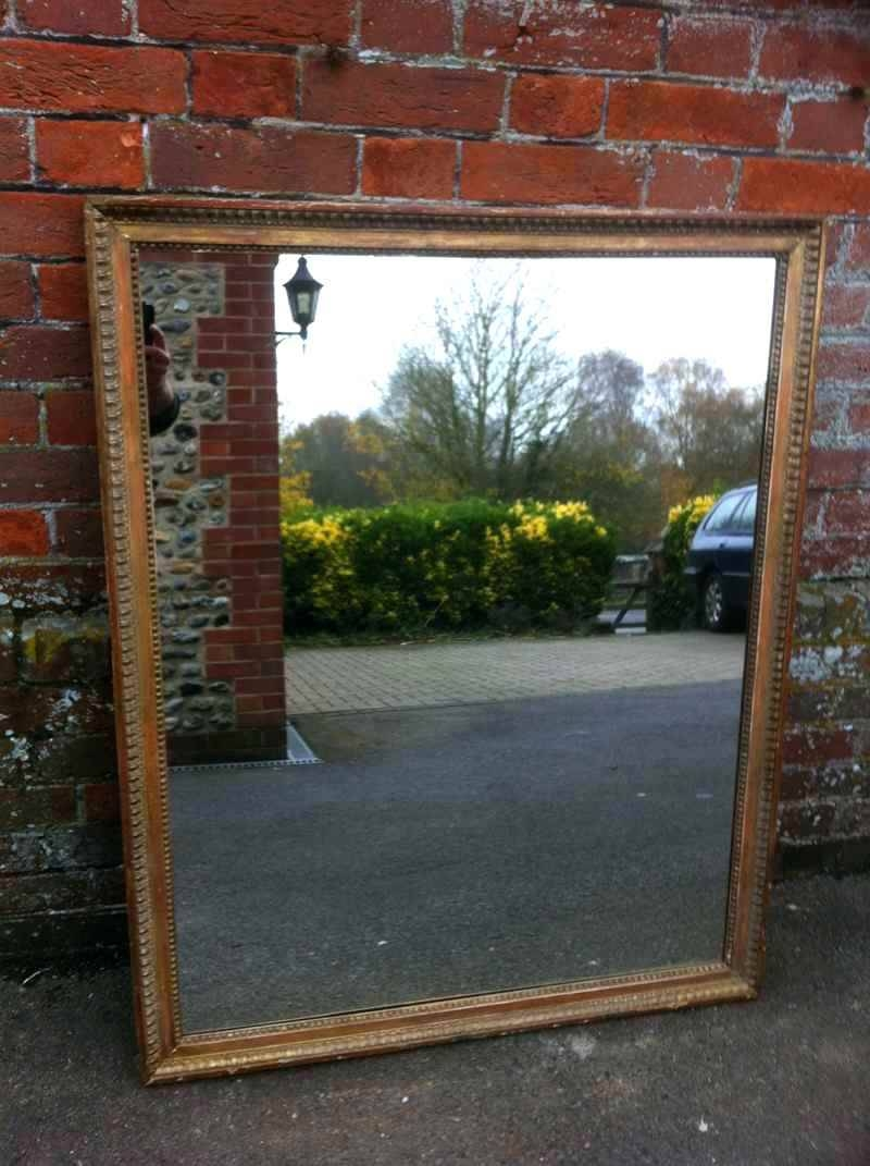 Large Wood Framed Mirror – Shopwiz regarding Large Landscape Mirrors (Image 17 of 25)