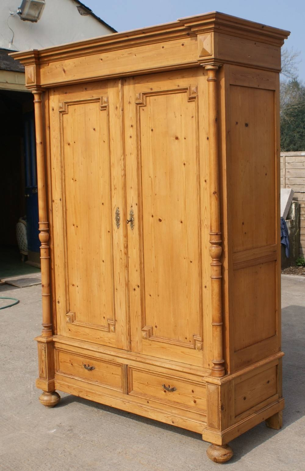 Top 15 Of Large Antique Wardrobes