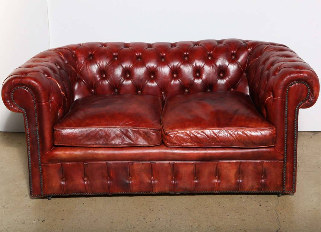 Leather Chesterfield Sleeper Sofa Bed Vintage Design Ideas within Vintage Leather Sofa Beds (Image 14 of 30)