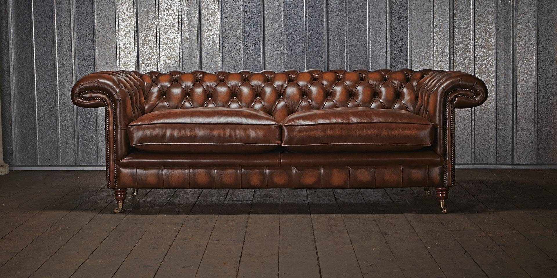 Leather Chesterfield Sofa Ideas For Home New Lighting throughout Leather Chesterfield Sofas (Image 17 of 30)