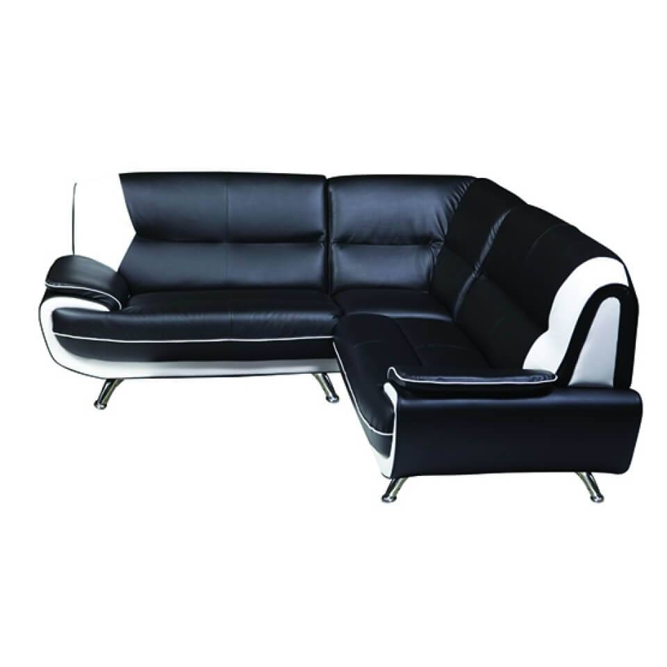 Leather Corner Sofa Second Hand | Tehranmix Decoration throughout Large Black Leather Corner Sofas (Image 14 of 30)