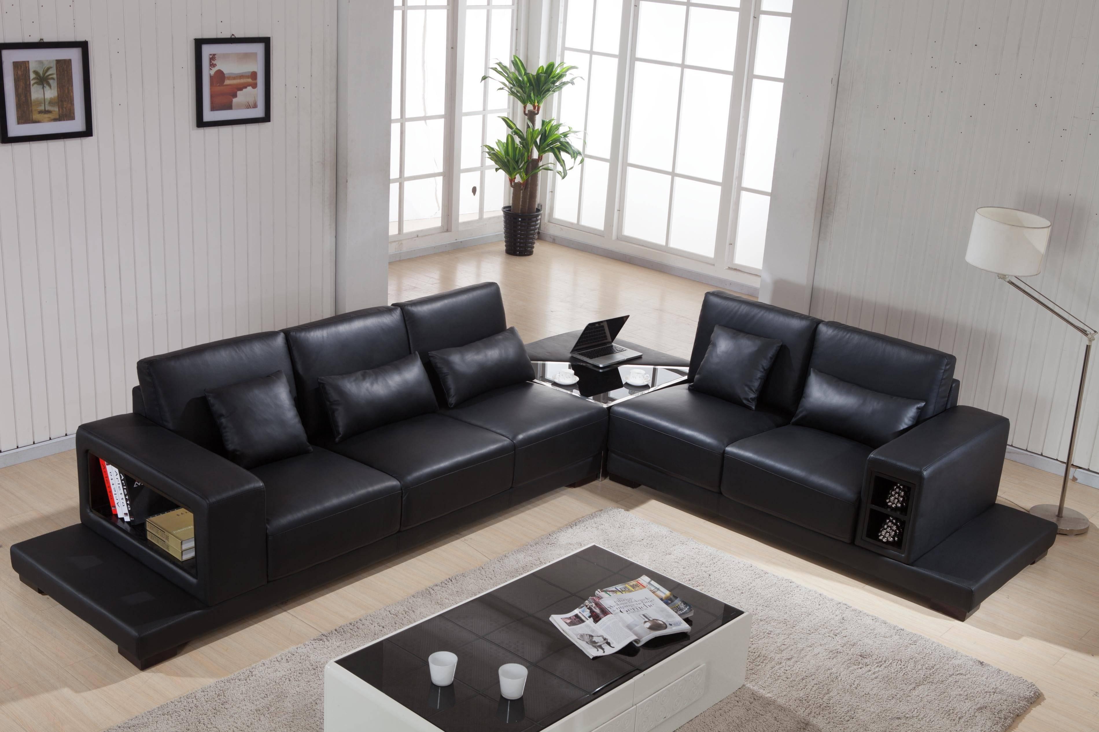 Leather Corner Sofas Elegant Home Design throughout Sofa Corner Units (Image 12 of 30)