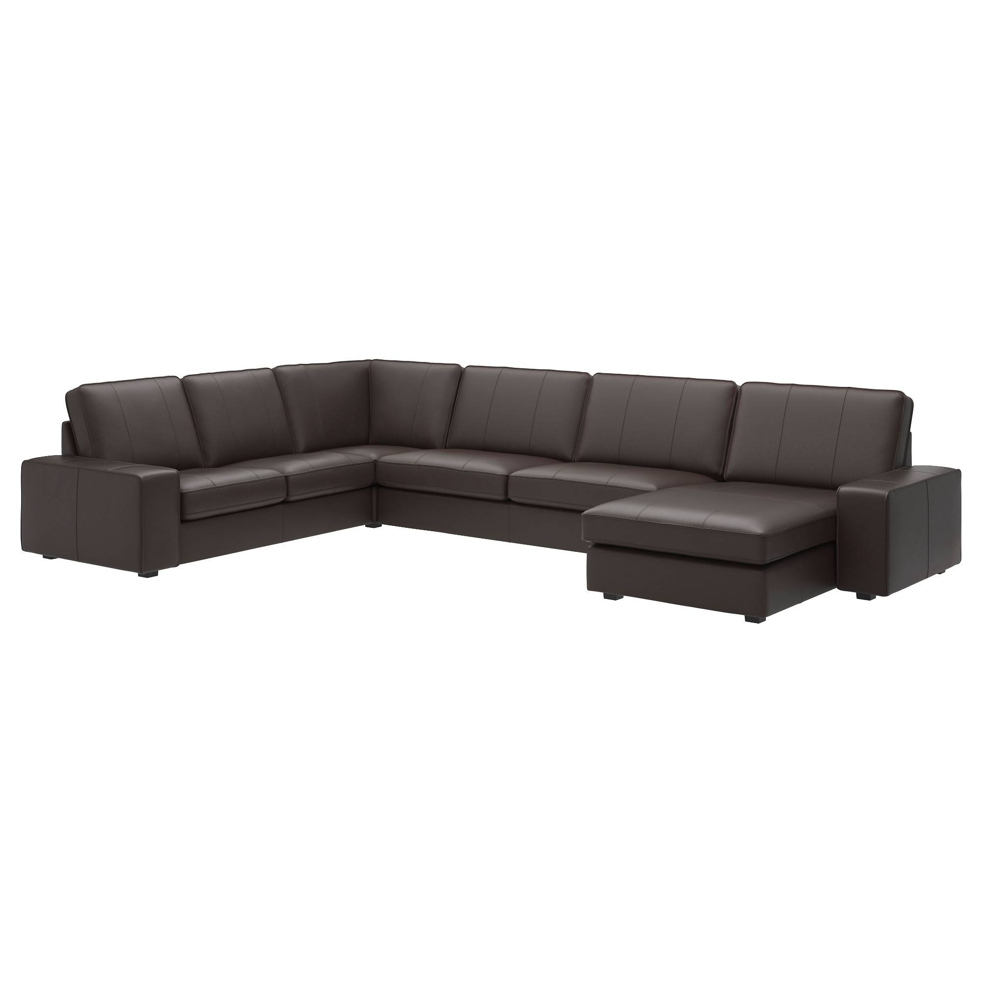 Leather & Faux Leather Couches, Chairs & Ottomans - Ikea throughout Leather Lounge Sofas (Image 13 of 30)