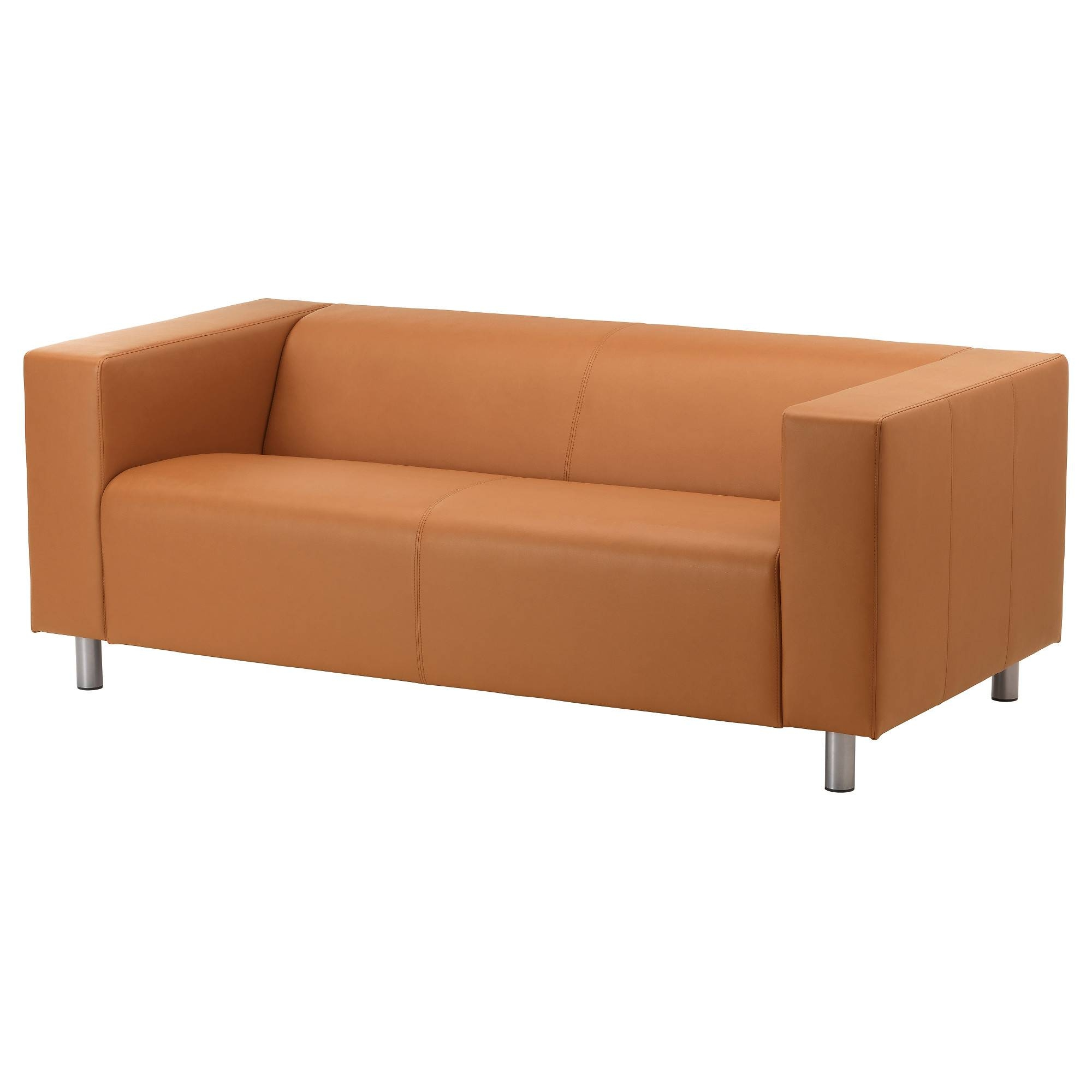 Leather & Faux Leather Couches, Chairs & Ottomans - Ikea within Orange Ikea Sofas (Image 23 of 30)