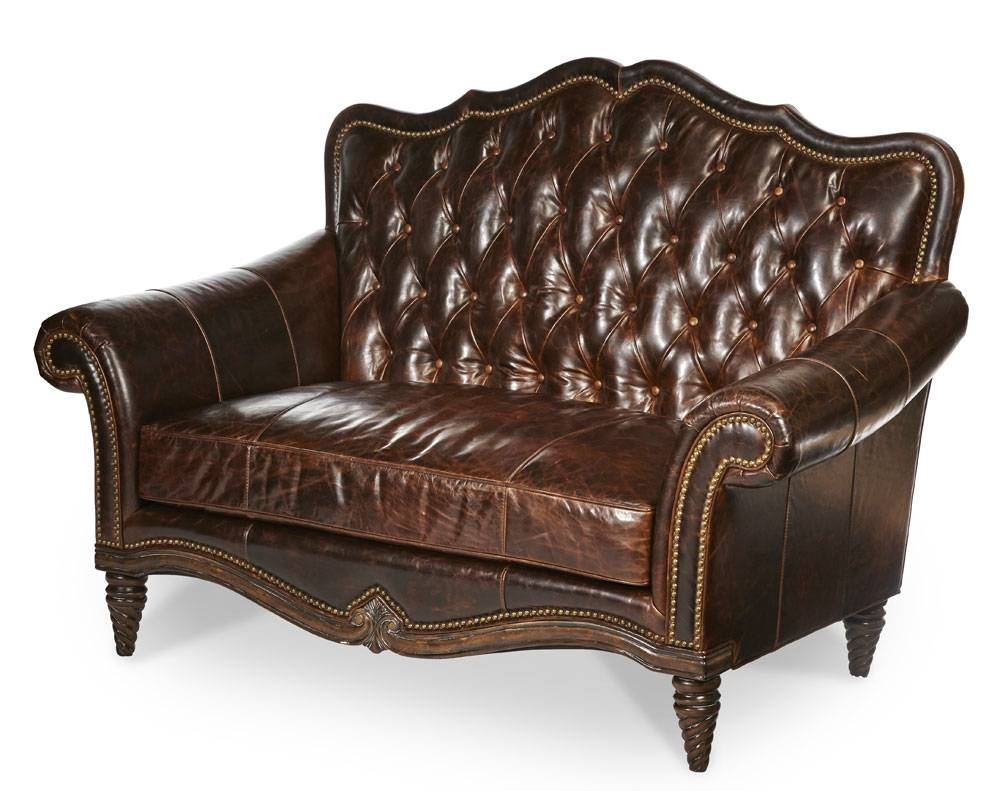 Leather Love Seat Victoria Palace Bu Aico | Aico Living Room Furniture intended for Victorian Leather Sofas (Image 9 of 30)