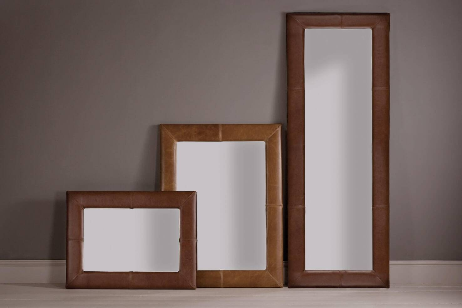Popular Photo of Leather Mirrors
