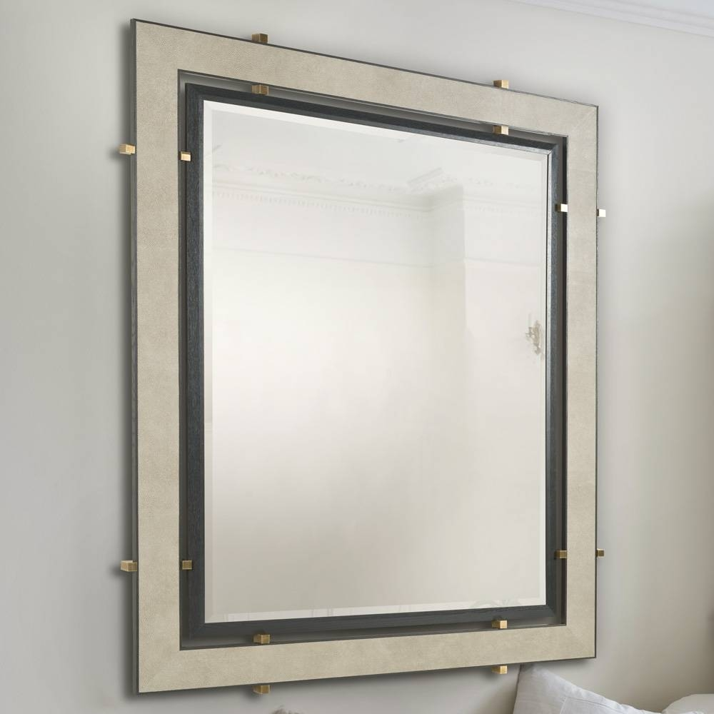 Leather Mirrors ― Simpsons London In Leather Mirrors (View 17 of 25)