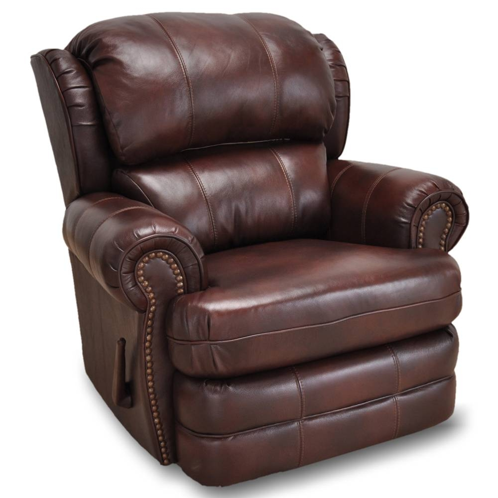 Leather Recliners - Franklin Furniture for Canterbury Leather Sofas (Image 20 of 30)