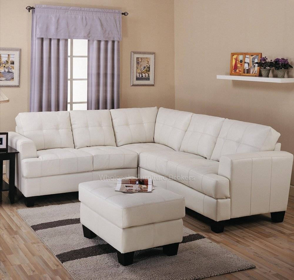 Leather Sectionals For Sale | Tehranmix Decoration in Cream Sectional Leather Sofas (Image 6 of 12)