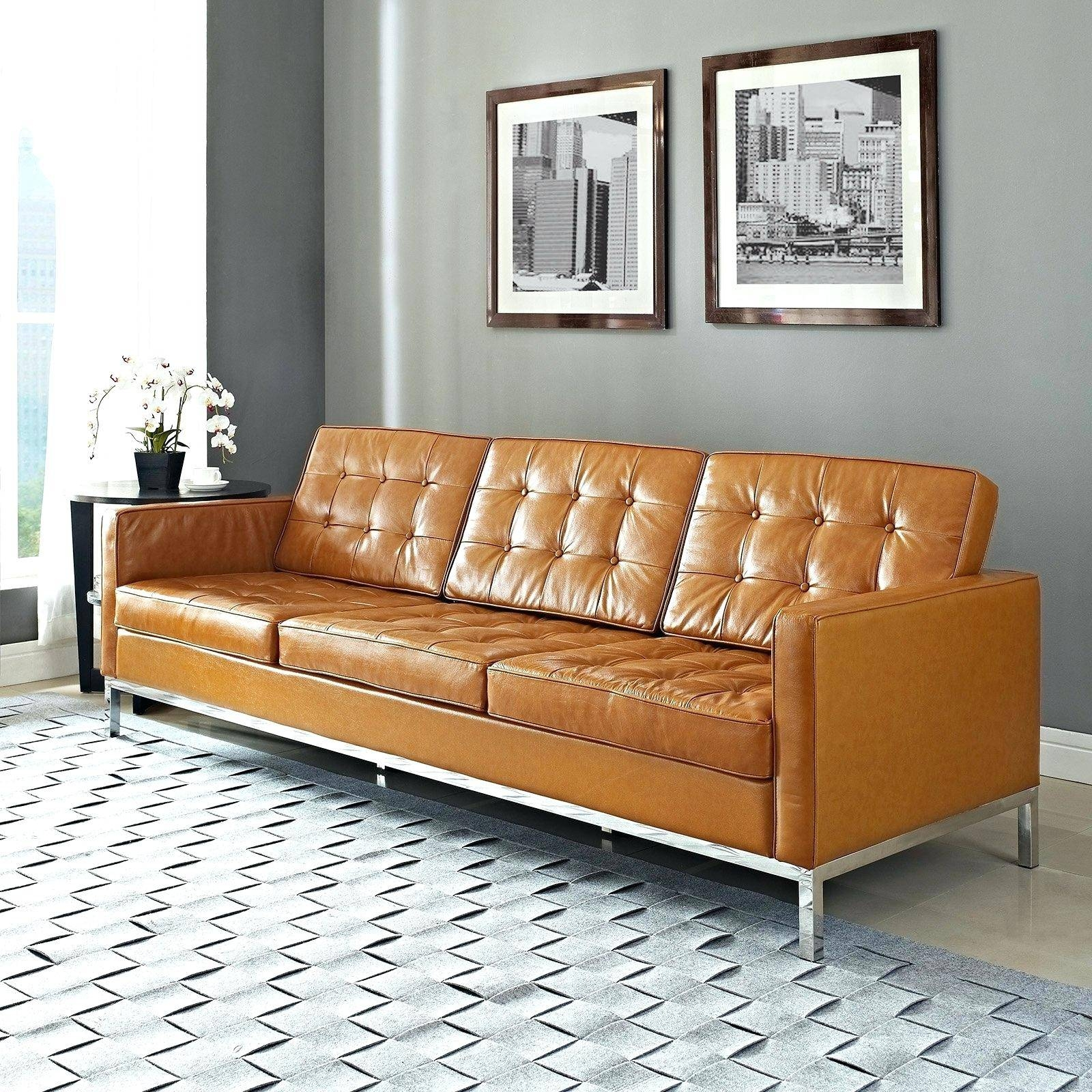 Leather Sofa Sectional With Chaise Tan Sofas Gray – Lenspay intended for Light Tan Leather Sofas (Image 15 of 30)