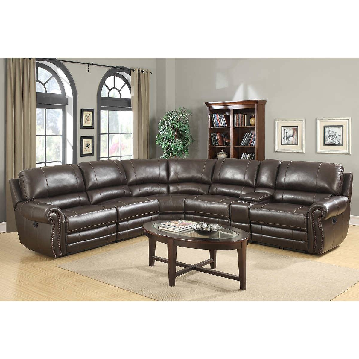 Leather Sofa Sectionals On Sale - Fjellkjeden in Leather Sofa Sectionals for Sale (Image 14 of 30)