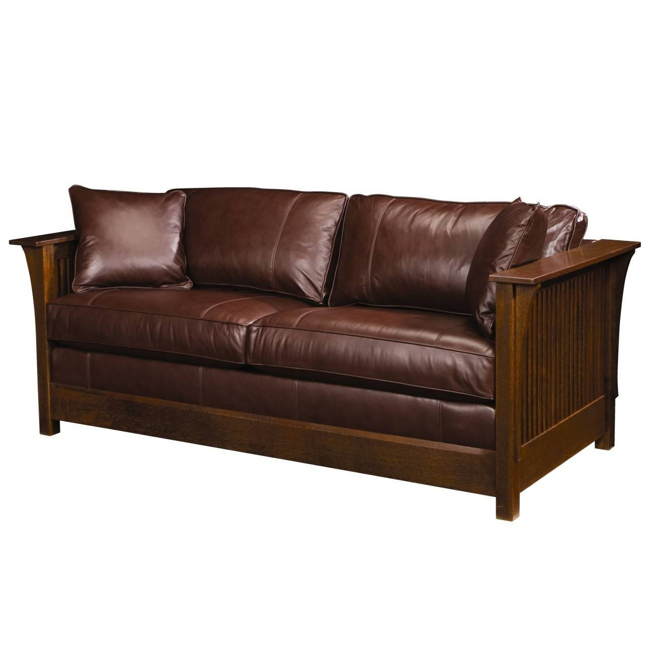 Leather Sofa Sleepers Queen Size - Tourdecarroll in Sofa Sleepers Queen Size (Image 9 of 30)