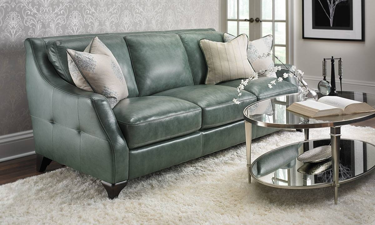 Leather Sofas | Haynes Furniture, Virginia's Furniture Store for Leather Sofas (Image 18 of 30)