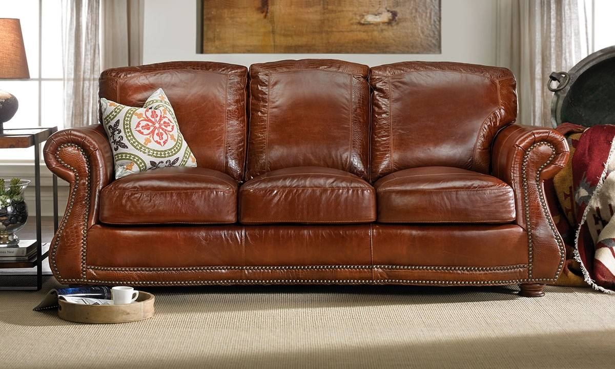 Leather Sofas | Haynes Furniture, Virginia's Furniture Store within Leather Sofas (Image 22 of 30)