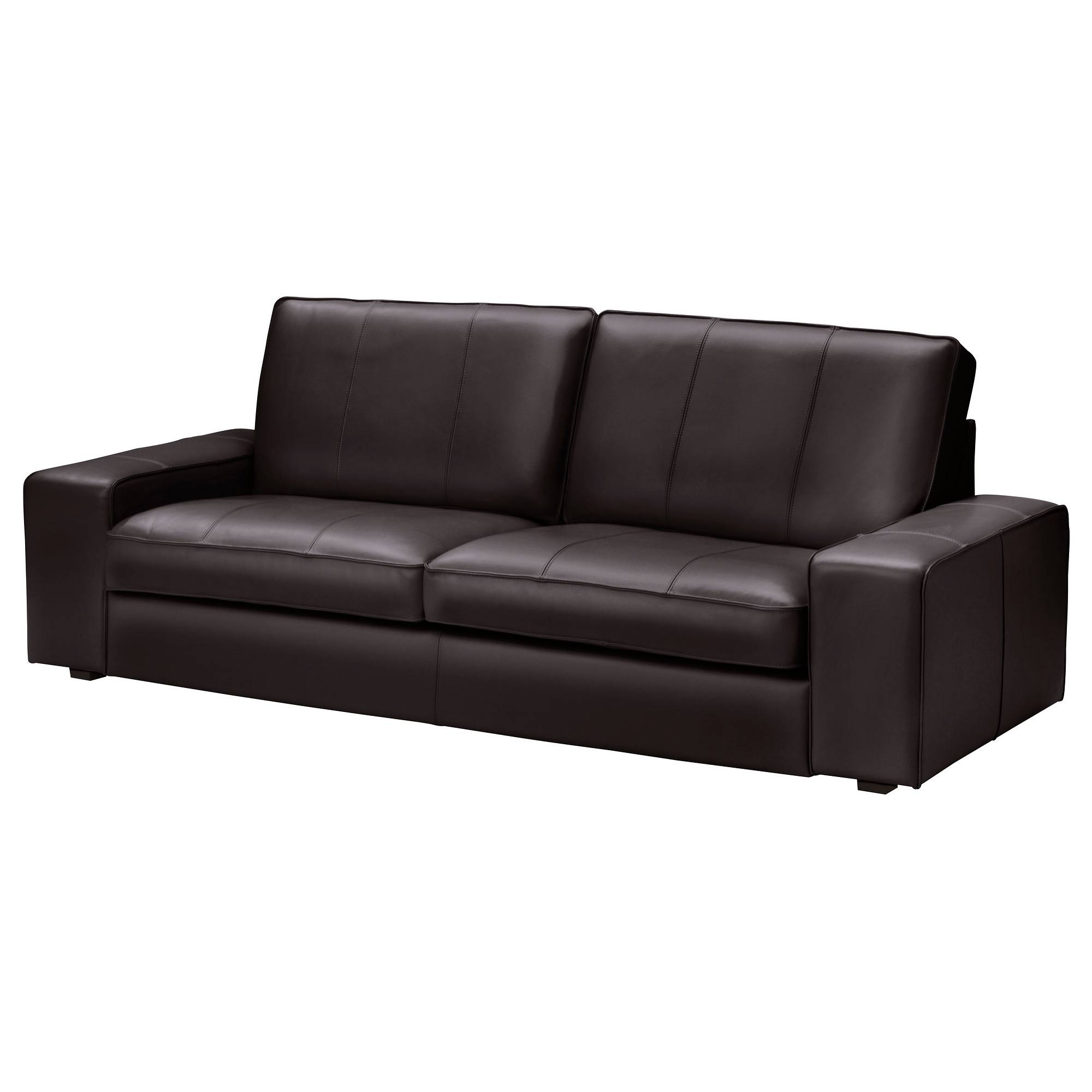 Leather/faux Leather Sofas - Ikea in Leather and Material Sofas (Image 16 of 30)