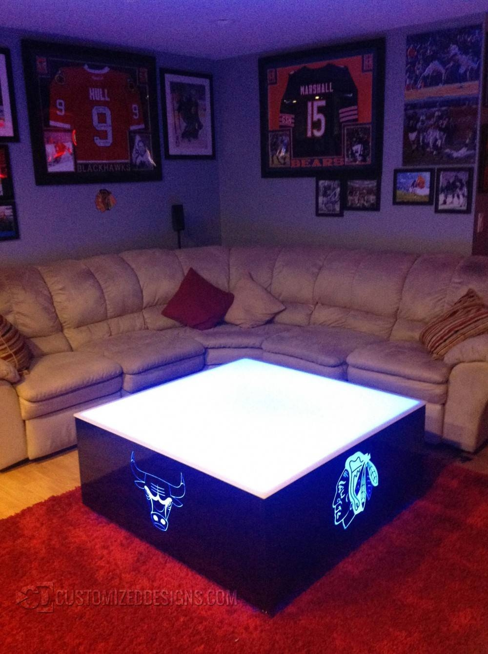 Led Coffee Table intended for Led Coffee Tables (Image 14 of 30)