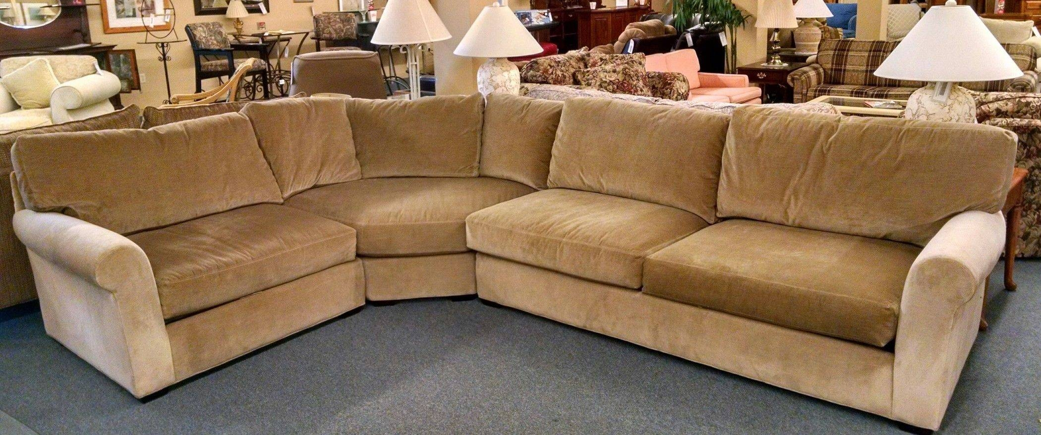 Lee Industries Sectional Sofa | Delmarva Furniture Consignment regarding Lee Industries Sectional Sofa (Image 16 of 25)