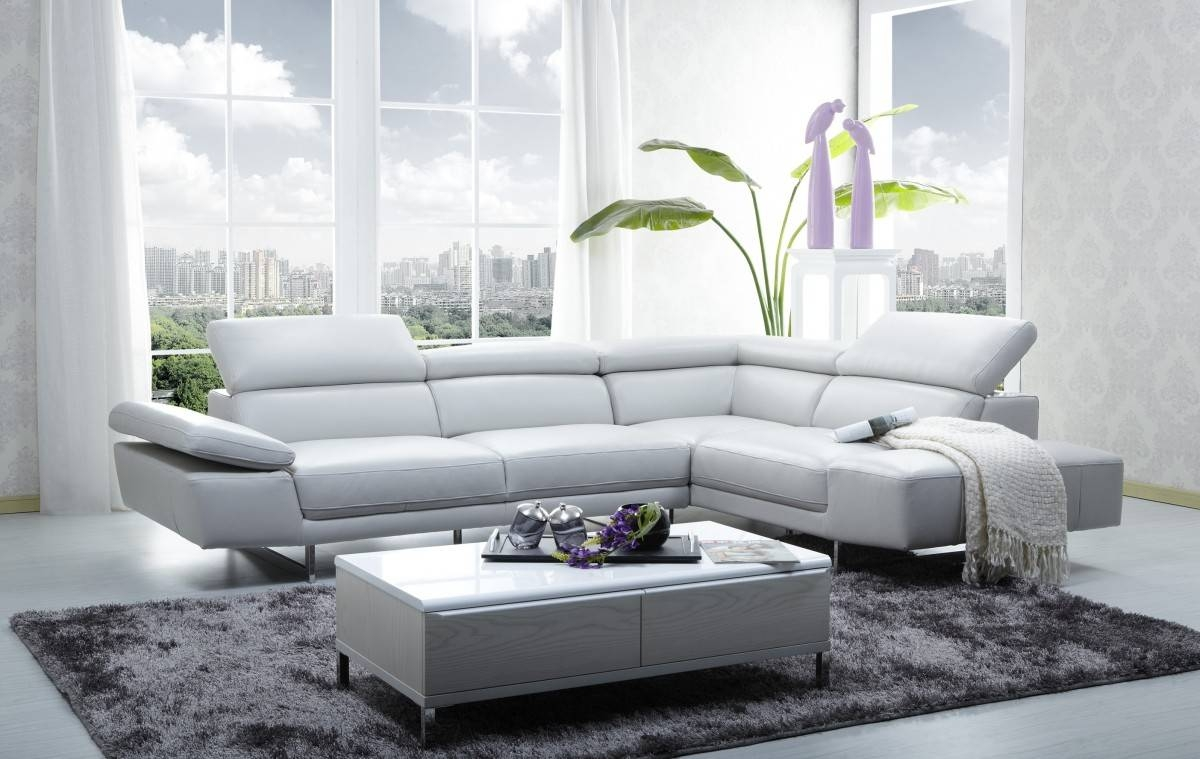 Left Side Chaise Sofa – Leather Sectional Sofa Regarding Contemporary Black Leather Sectional Sofa Left Side Chaise (View 27 of 30)