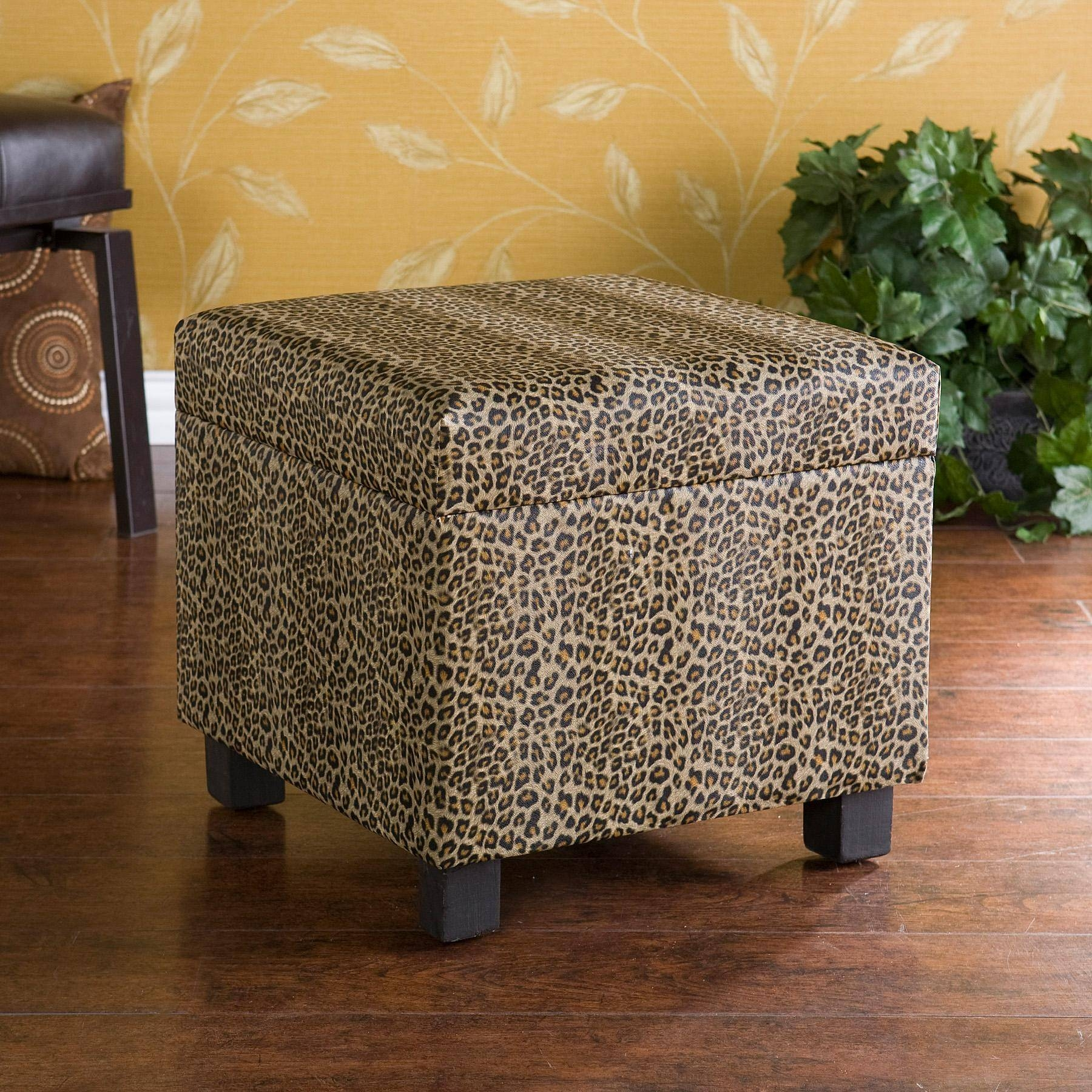 Leopard Print Ottoman Coffee Table - View Here — Coffee Tables Ideas intended for Leopard Ottoman Coffee Tables (Image 21 of 30)