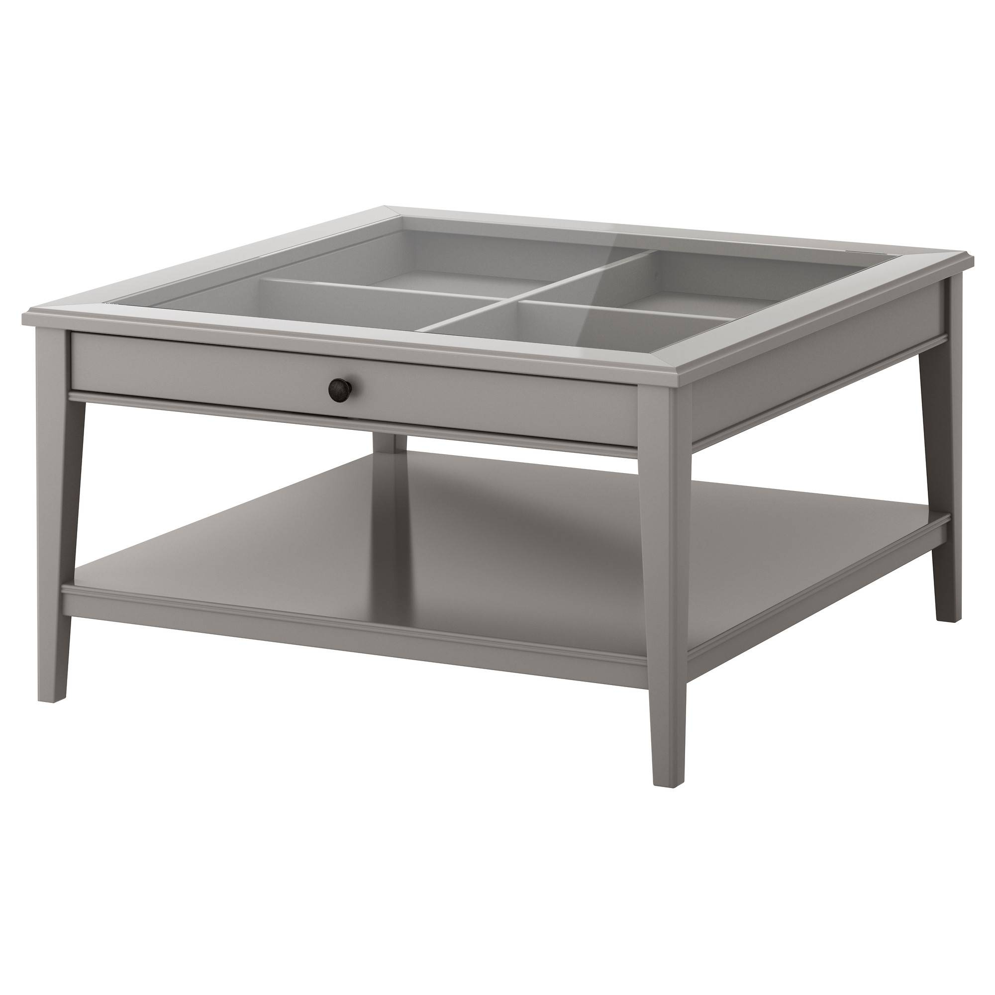 Liatorp Coffee Table - White/glass - Ikea intended for Glass Top Storage Coffee Tables (Image 21 of 30)