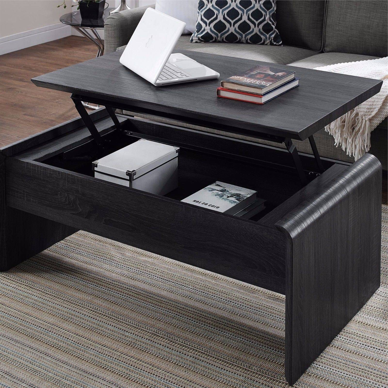 Lift Top Coffee Table Living Room Furniture Desk Modern Storage regarding Lift Top Coffee Tables With Storage (Image 17 of 30)