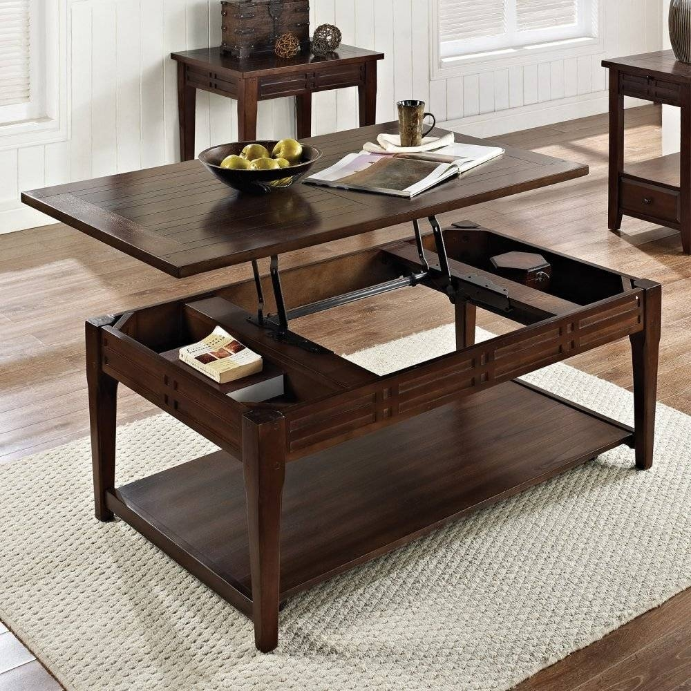 Lift Top Coffee Table With Storage — Office And Bedroomoffice And with Raisable Coffee Tables (Image 23 of 30)