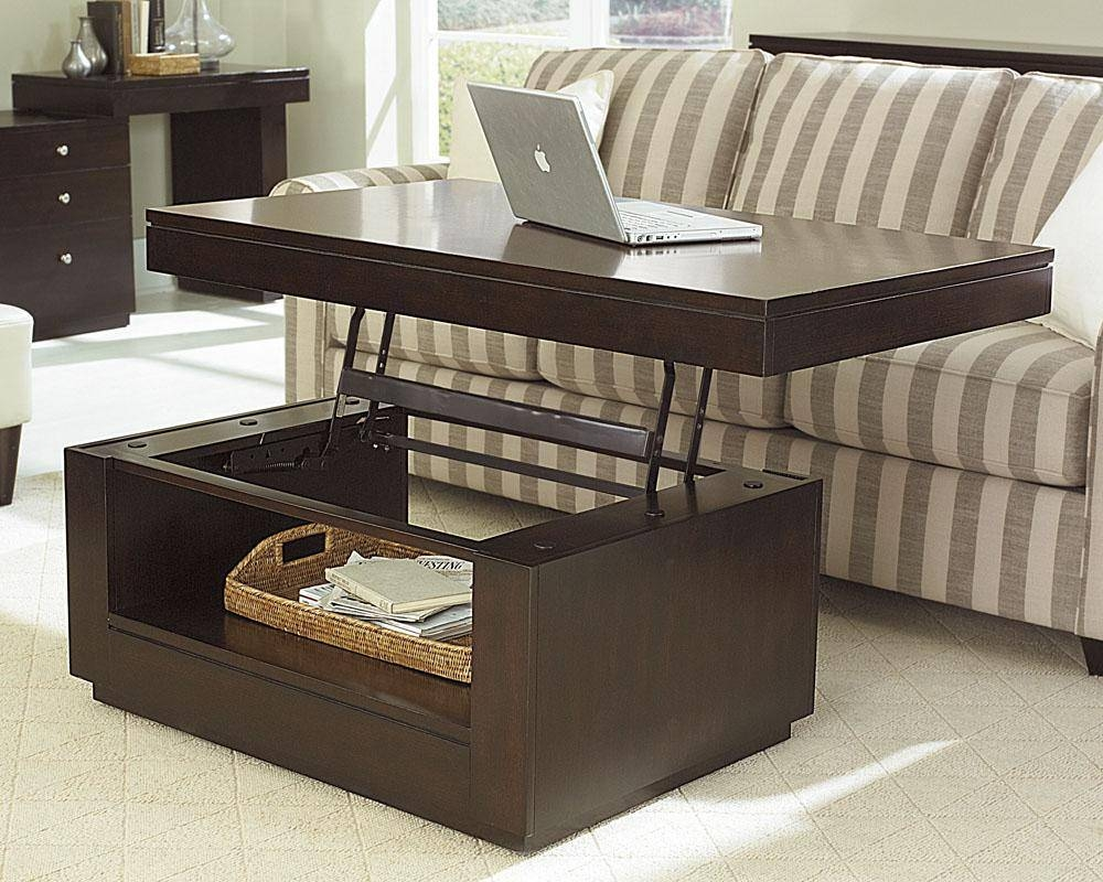 Lift Top Coffee Tables Image : Lift Top Coffee Tables Modern 2017 inside Hinged Top Coffee Tables (Image 14 of 30)