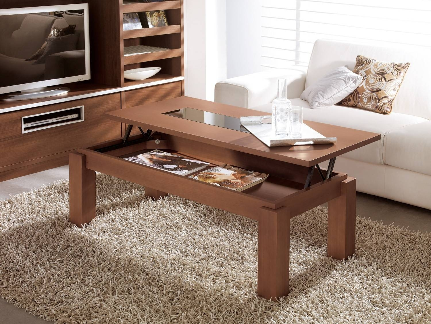 Lift Up Coffee Table Lift Up Coffee Tables ~ Bacill pertaining to Pull Up Coffee Tables (Image 21 of 30)