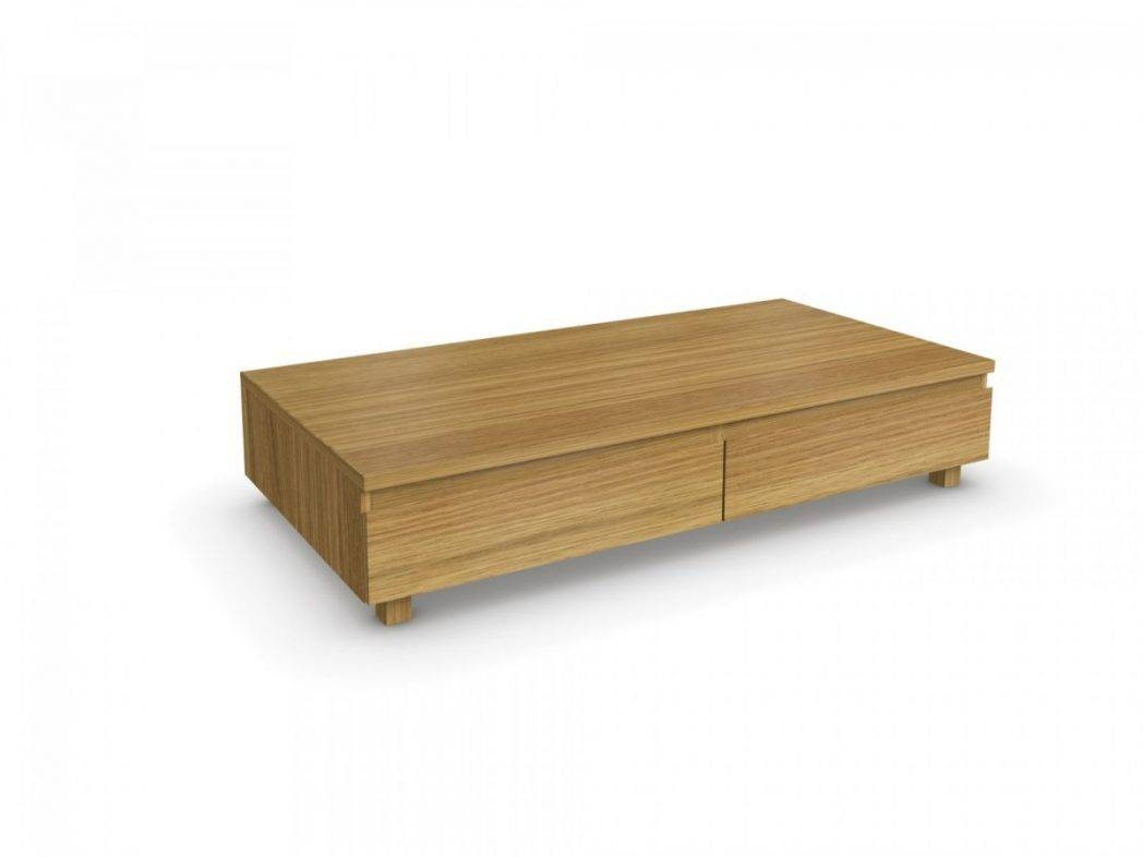 Light Oak Coffee Table With Drawers / Coffee Tables / Thippo intended for Light Oak Coffee Tables With Drawers (Image 21 of 30)