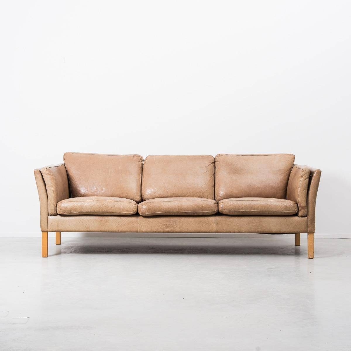 Light Tan Leather Sofa - Design-Maroc inside Light Tan Leather Sofas (Image 21 of 30)