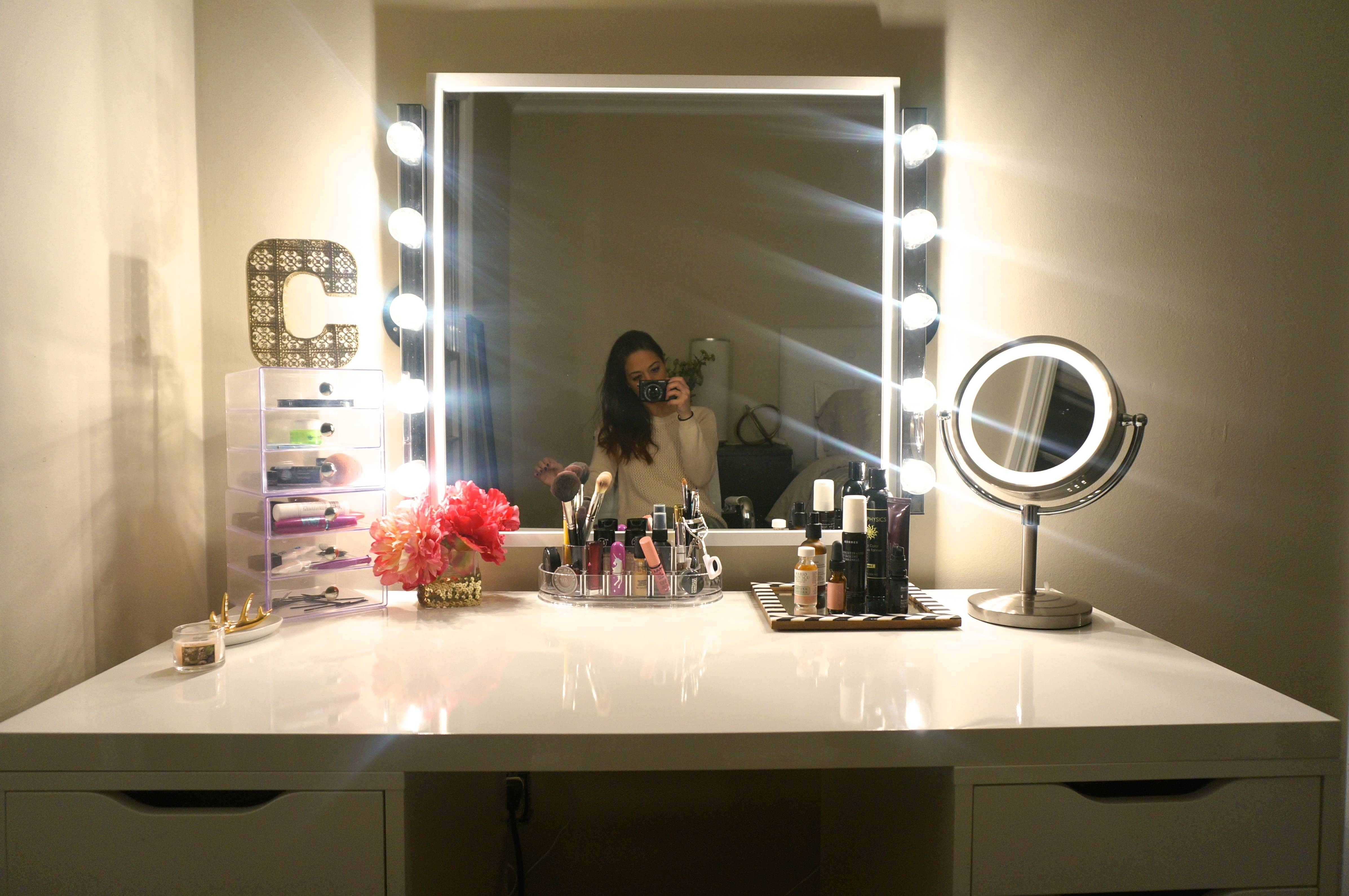Lighted Vanity Mirror Ikea | Creative Vanity Decoration for Illuminated Dressing Table Mirrors (Image 22 of 25)
