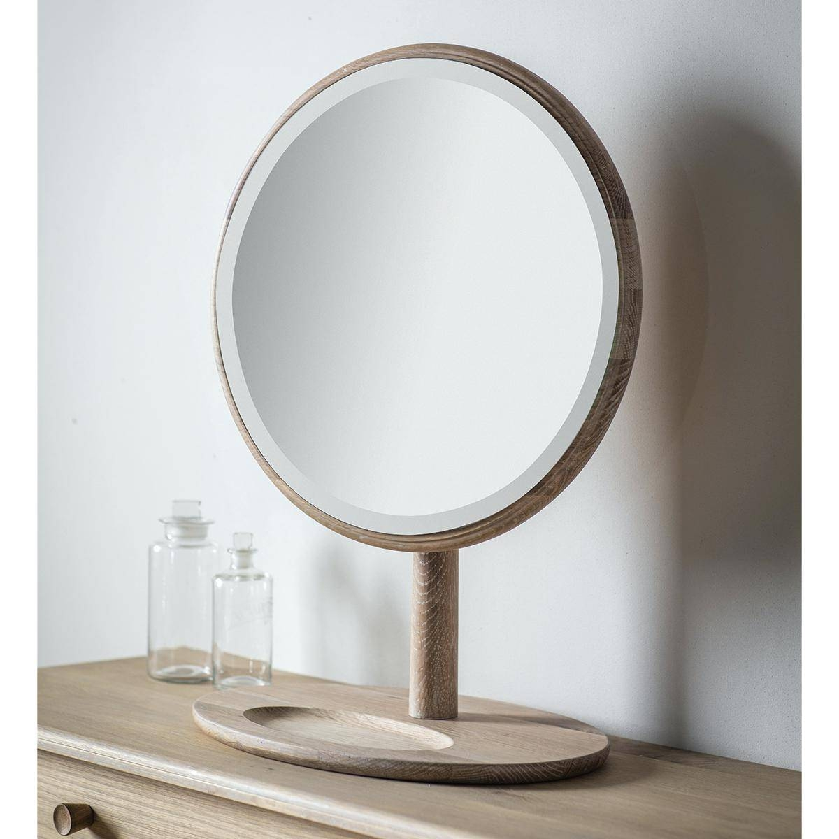 Lila Range White Dressing Table And Mirrorantique Oval Mirror within Free Standing Dressing Mirrors (Image 18 of 25)