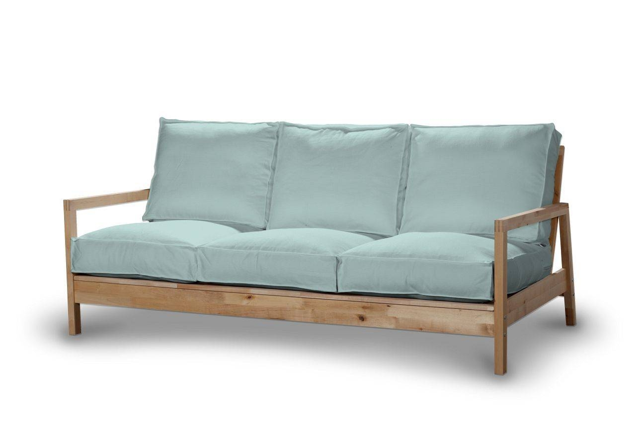 Lillberg 3-Seater Sofa Cover, Pastel Blue, Lillberg 3-Seat Sofa for Lillberg Sofa Covers (Image 17 of 30)