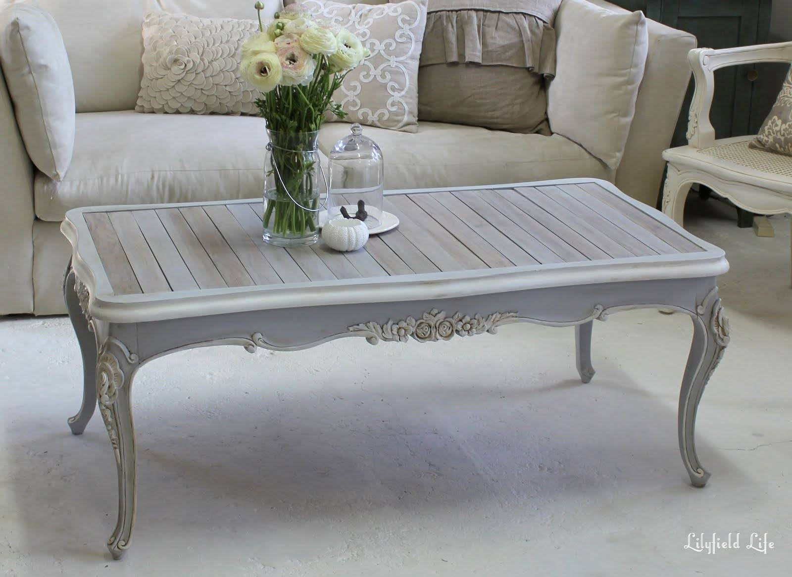 Lilyfield Life: Bbq Table Meets Coffee Table in French Style Coffee Tables (Image 22 of 30)