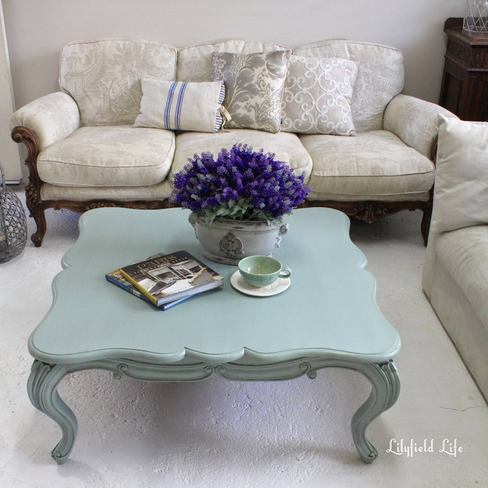 Lilyfield Life: Duck Egg Blue Coffee Table within Blue Coffee Tables (Image 25 of 30)