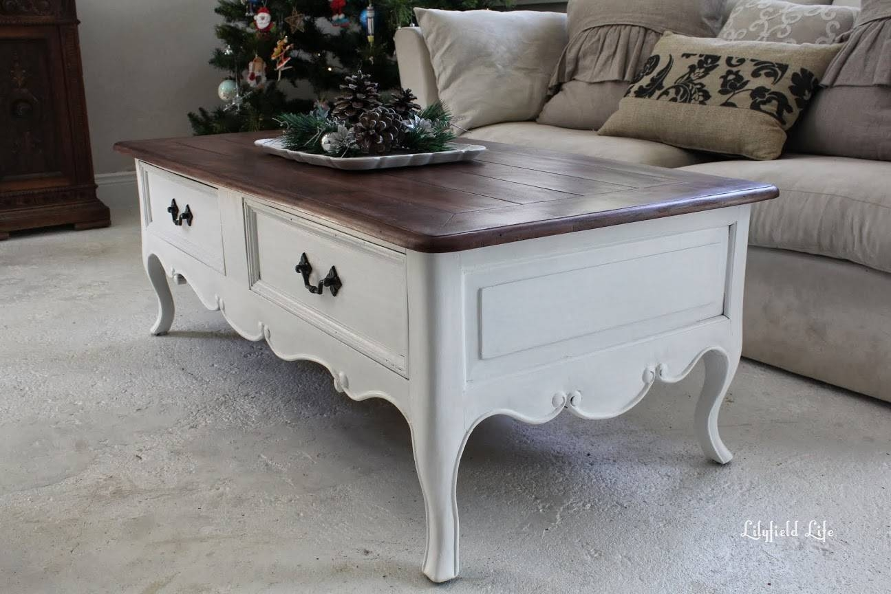 Lilyfield Life: French Style Coffee Table for French White Coffee Tables (Image 25 of 30)