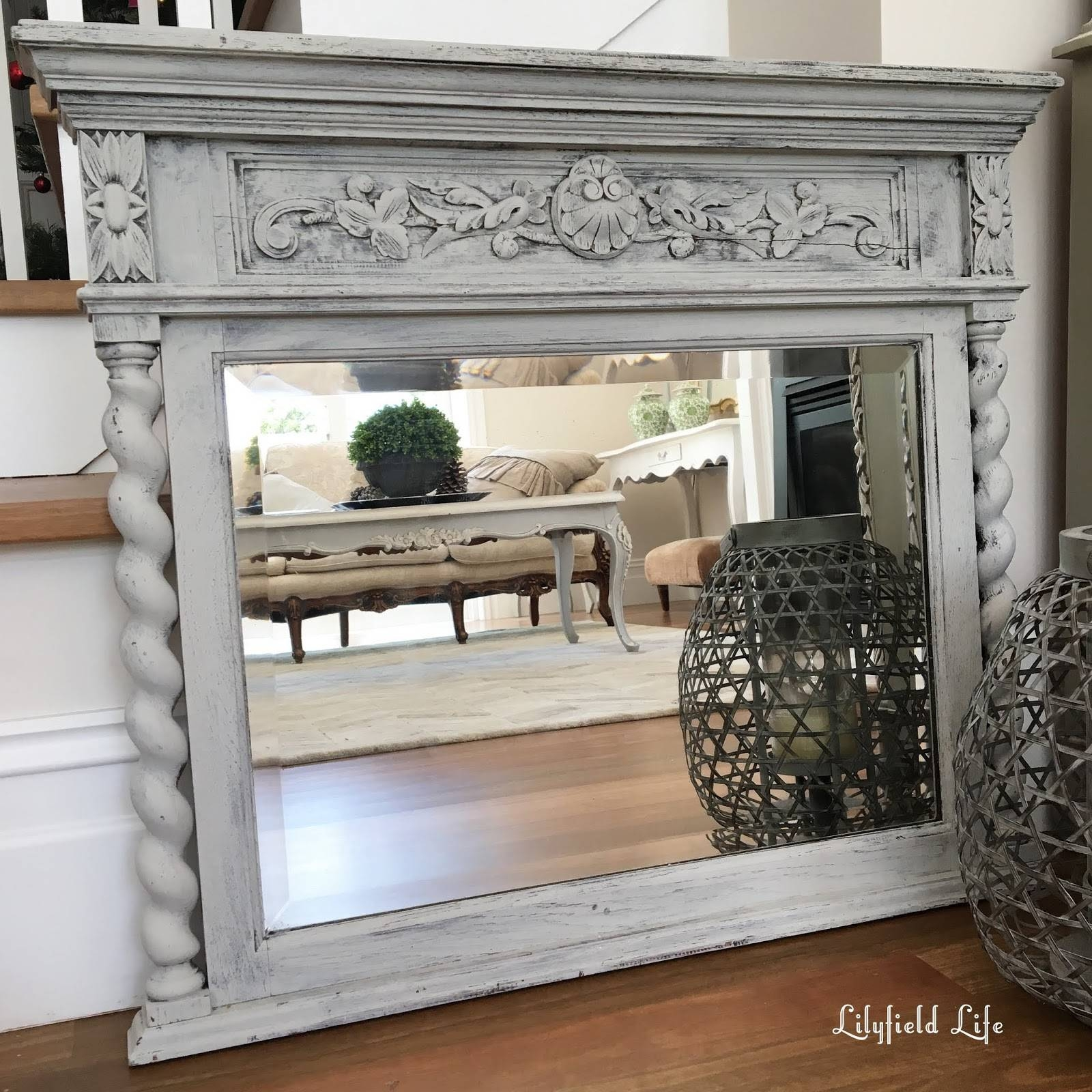 Lilyfield Life: Gorgeous Painted Vintage Mirrors inside Grey Vintage Mirrors (Image 17 of 25)