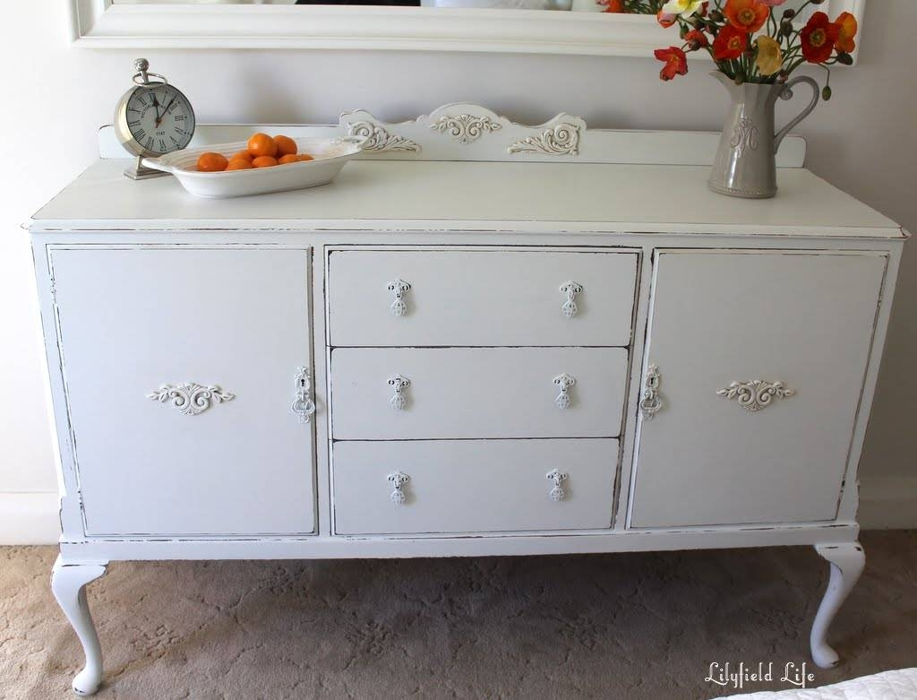 Lilyfield Life: Oh So Pretty White Sideboard within French Style Sideboards (Image 23 of 30)