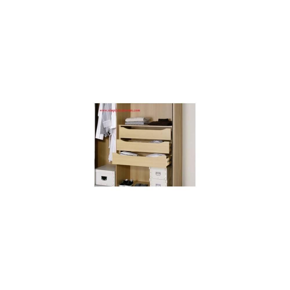 Lima Kent Wardrobe 3 Drawer Internal Chests Product Code: Kent9895 Regarding Kent Wardrobes (View 6 of 15)