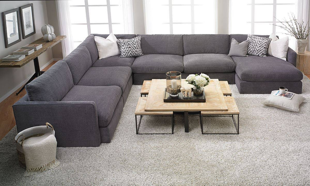 Lincoln Park 5-Pc Sectional Sofa | The Dump - America's Furniture with regard to Goose Down Sectional Sofa (Image 8 of 25)