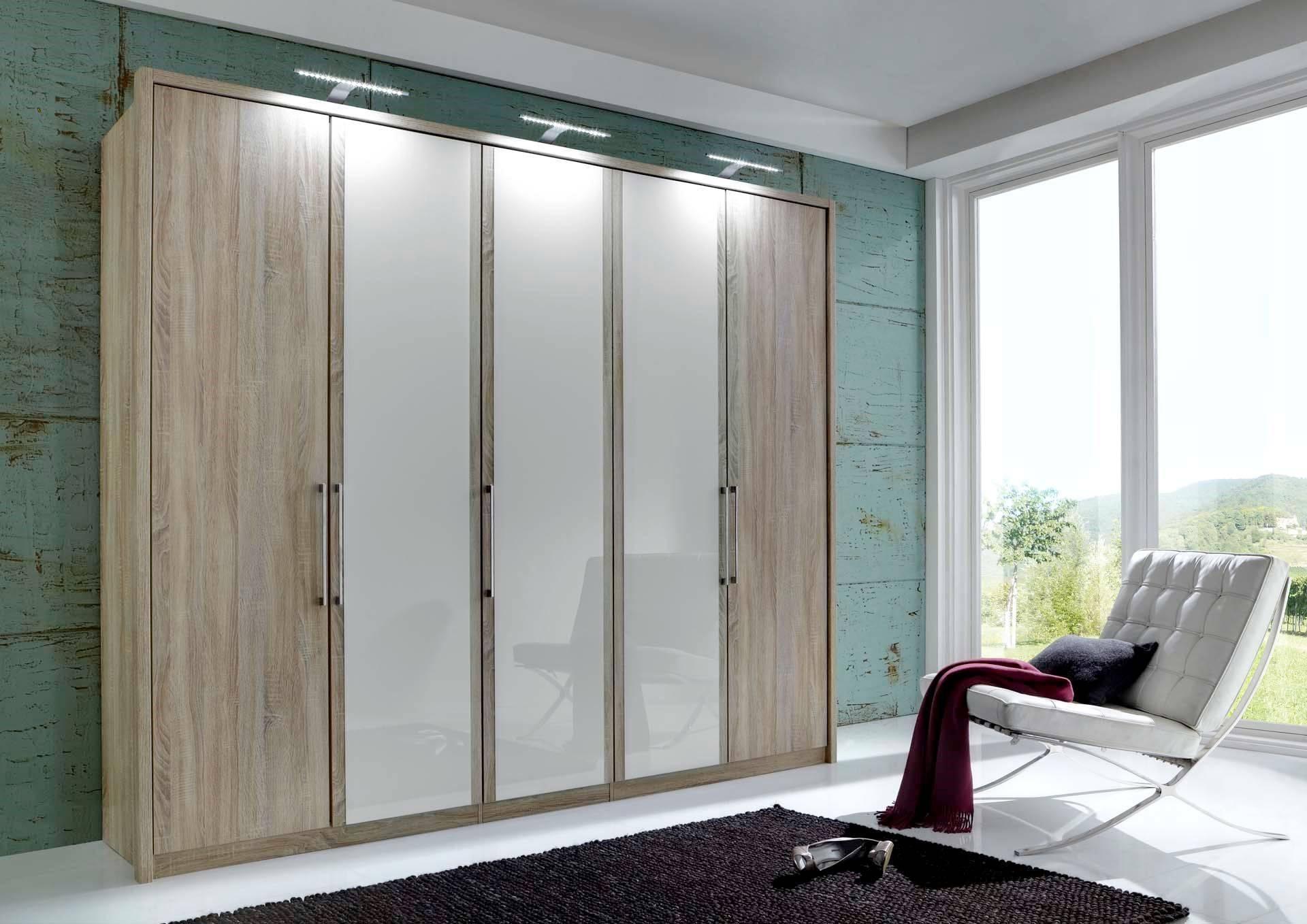 Linea Design. Wiemann Berlin 6 Door 300Cm Wardrobe for 6 Doors Wardrobes (Image 10 of 15)
