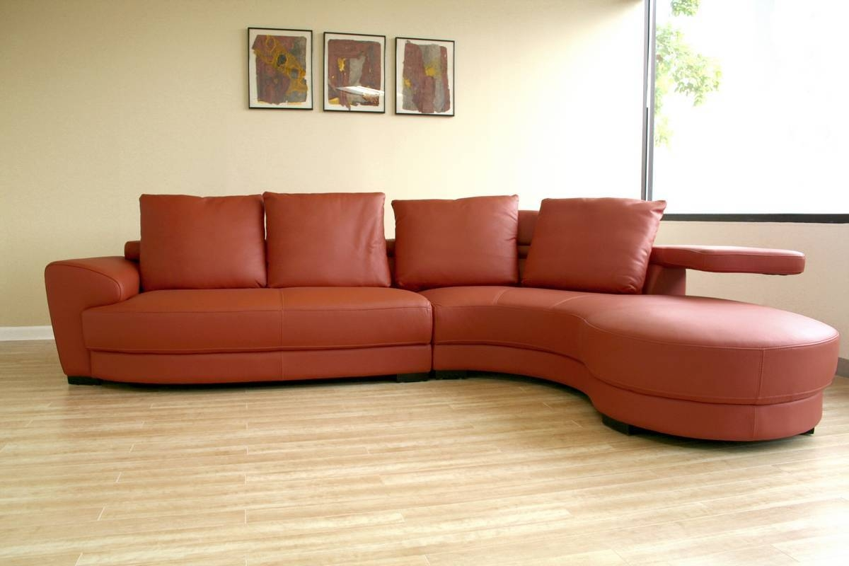 Living Room: Amazing Winsome Curved Sectional For Beautiful Living Regarding Circular Sectional Sofa (View 18 of 30)