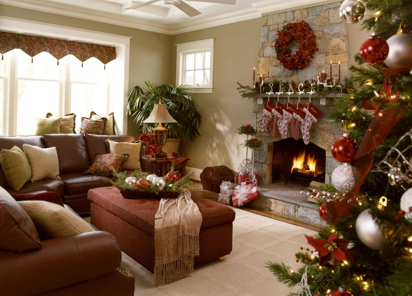 Living Room : Awesome Xmas Tree Decoration Sets With Round Red Intended For Round Red Coffee Tables (Photo 30 of 30)
