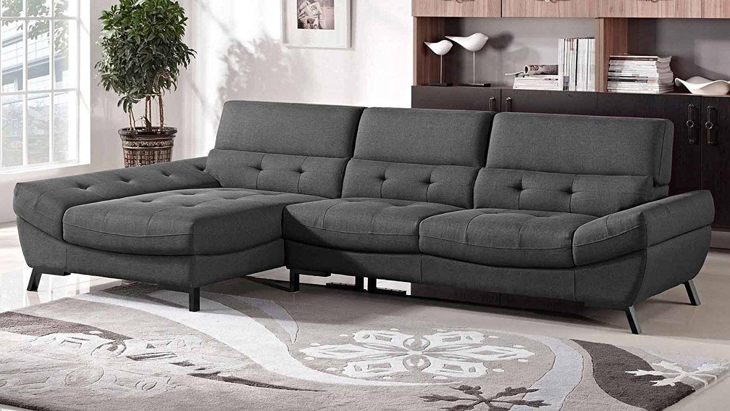 Living Room: Comfortable Grey Couches For Modern Room Design Ideas for Comfortable Sectional Sofa (Image 22 of 30)