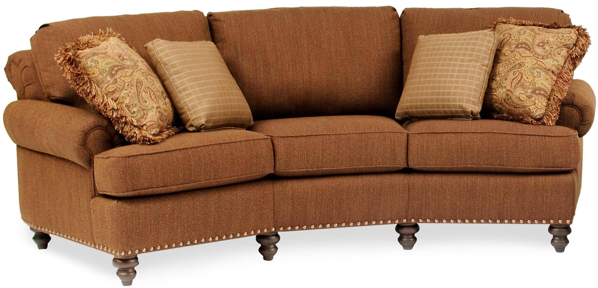 Living Room Curved Couches Sectionals Trends With Conversation Intended For Conversation Sofa Sectional (View 4 of 30)